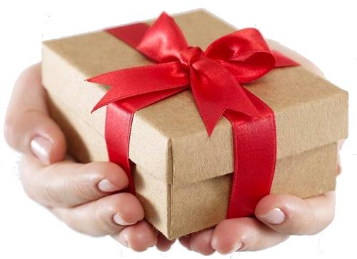 Как взять в руки подарок 685